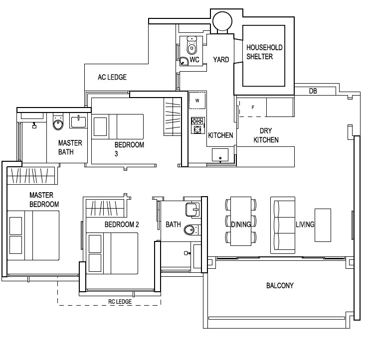 The terrace ec floor plans - Houses bedroom first floor fit needs ...